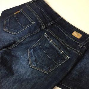 Paige Jeans Denim Hidden Hills Dark Wash Sz 26